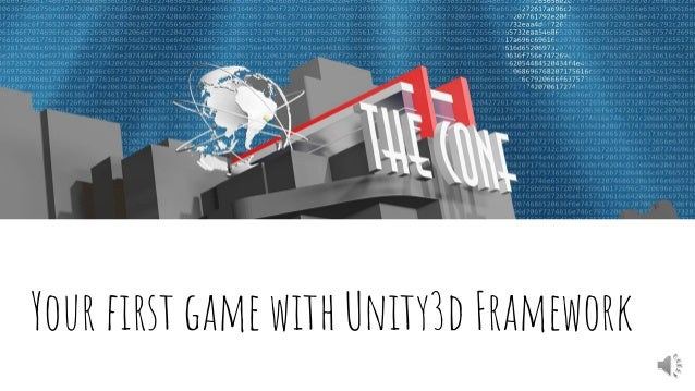 Your first game with Unity3d Framework