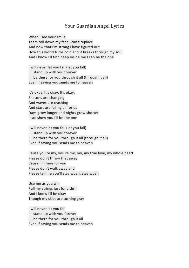 Lyric find my lyrics : your-guardian-angel-lyrics-1-728.jpg?cb=1336997865