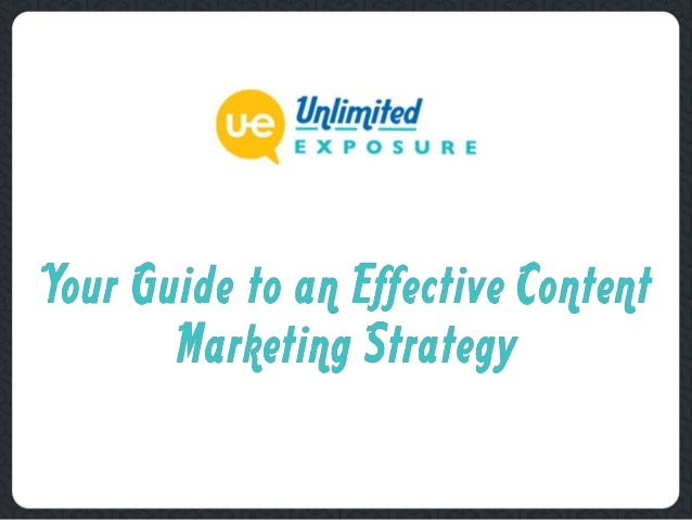 Quality is of Utmost Importance  For an effective content marketing strategy, you should focus on content quality and les...