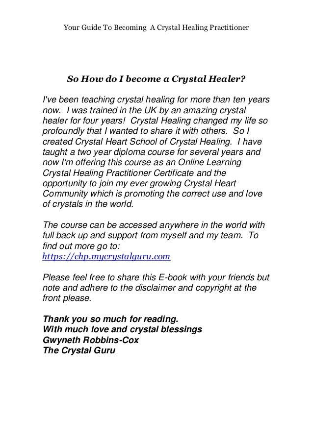 Your guide to becoming a crystal healing practitioner