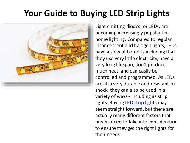 Your Guide to Buying LED Strip Lights