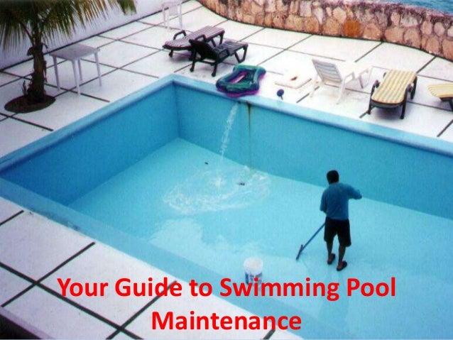 Swimming Pool Construction Maintenance And Refurbishing ...