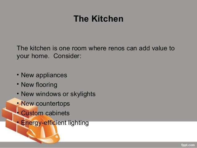 7. The KitchenThe Kitchen ...