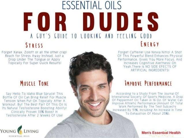 Essential Oils For Dudes