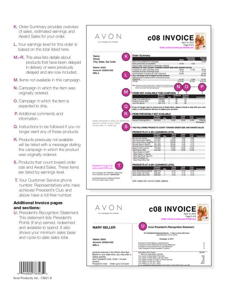 Avon Invoice Template Free Top 8 Trends In Avon Invoice