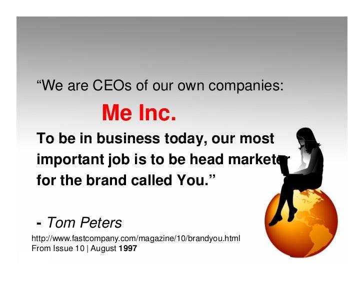 Your online brand Slide 3
