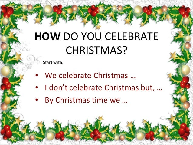 we celebrate christmas - When Did We Start Celebrating Christmas