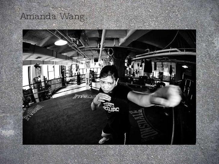 Amanda Wang.