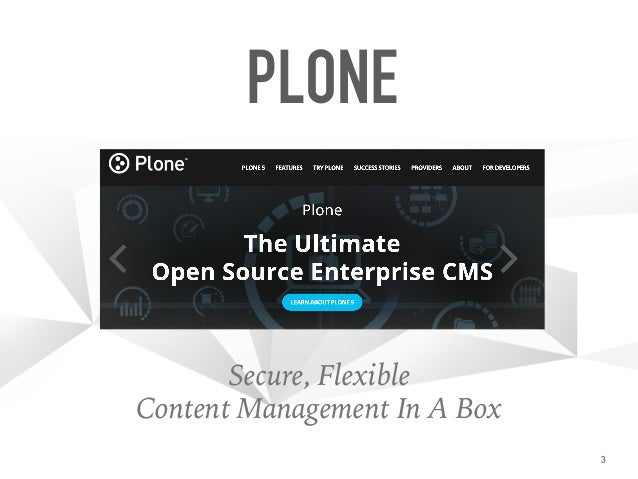 Your Plone [Intranet] in a Box™ Slide 3