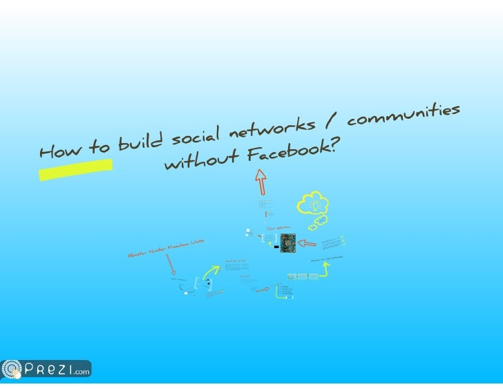 Building Social Communities Without Facebook