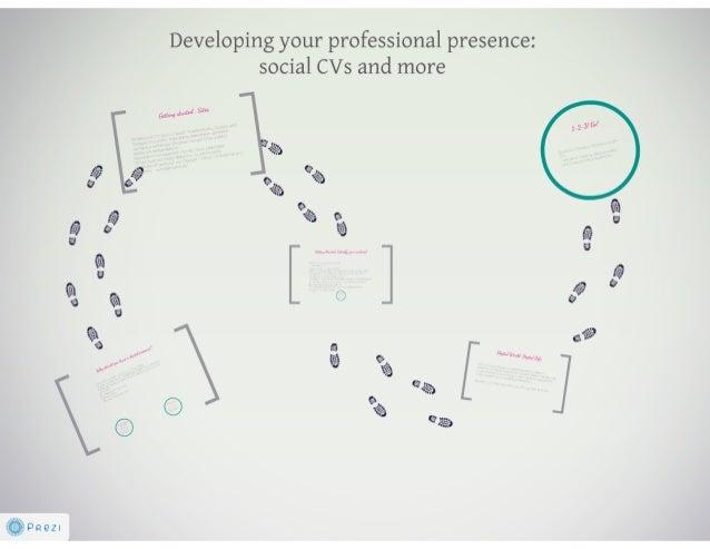 Social CVs - Identity & linkedin and your career