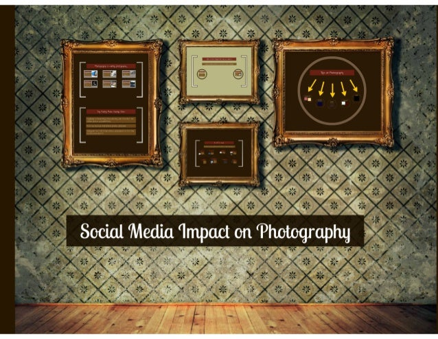 Smart phone technology and social media impact on photography