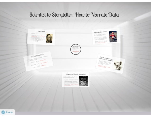 Scientist to Storyteller: How to Narrate Your Data [SXSW proposal]