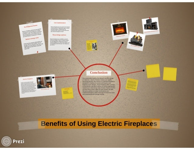Electric fireplace heater benefits Slide 2
