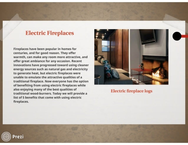 Electric fireplace heater benefits Slide 3