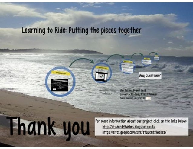 Learning to Ride: Creating a blended learning course teaching webinar skills  ALT-C 2014