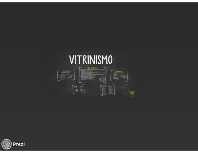 Vitrinismo
