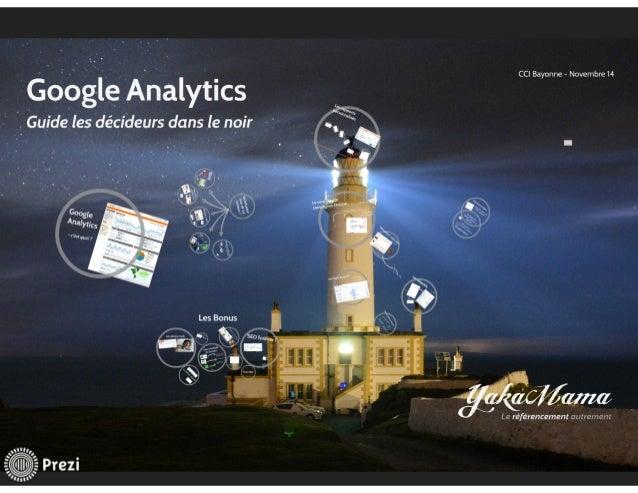 Google Analytics, outil d'aide à la décision pour dirigeants