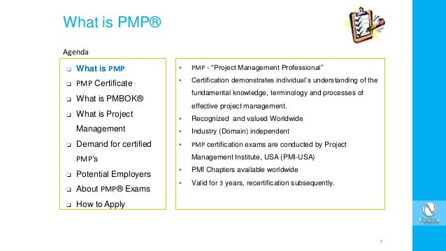 your quick guide to pmp certification and examination