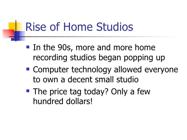how to make money with your home recording studio