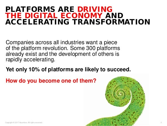 Companies across all industries want a piece of the platform revolution. Some 300 platforms already exist and the developm...