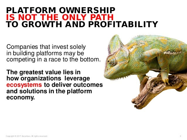 Companies that invest solely in building platforms may be competing in a race to the bottom. The greatest value lies in ho...