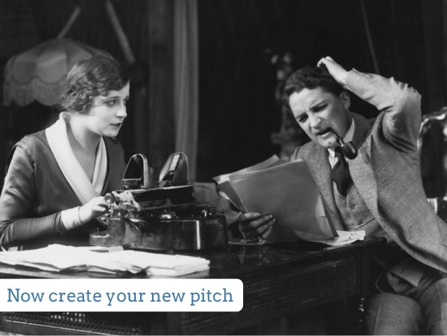 Now create your new pitch