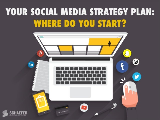 your social media strategy plan  where do you start