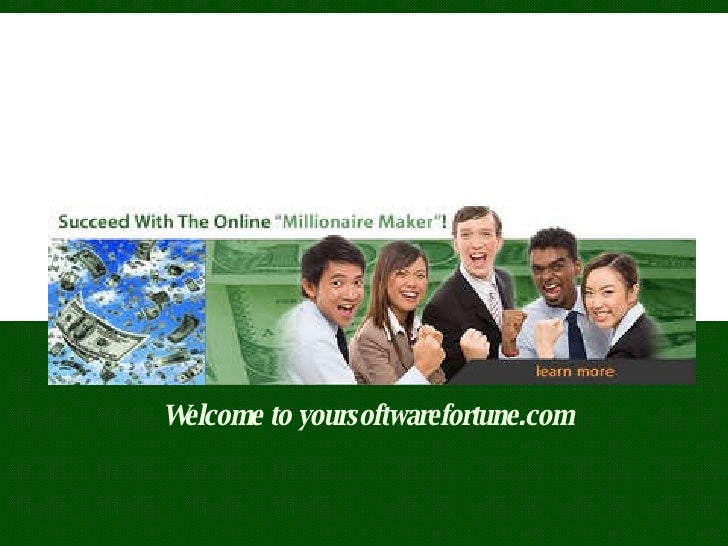 Welcome to yoursoftwarefortune.com