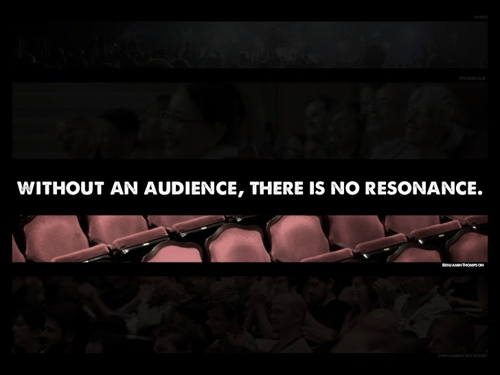 tphets                                              Wonderlanewithout an audience, there is no resonance.                 ...