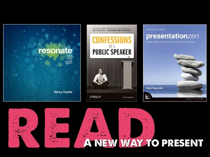read  A new way to present