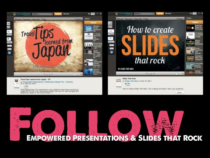 FollowEmpowered Presentations & Slides that Rock