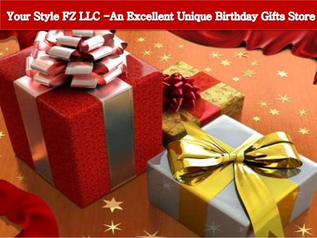 Your Style FZ LLC An Excellent Unique Birthday Gifts Store
