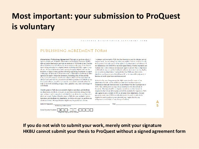 proquest thesis royalties Proquest/umi will pay royalties of 10% of its net revenue from sales of the work, conditioned on author maintaining a current address on record with proquest/umi royalties will be paid when accrued earned royalties reach $2500 usd.
