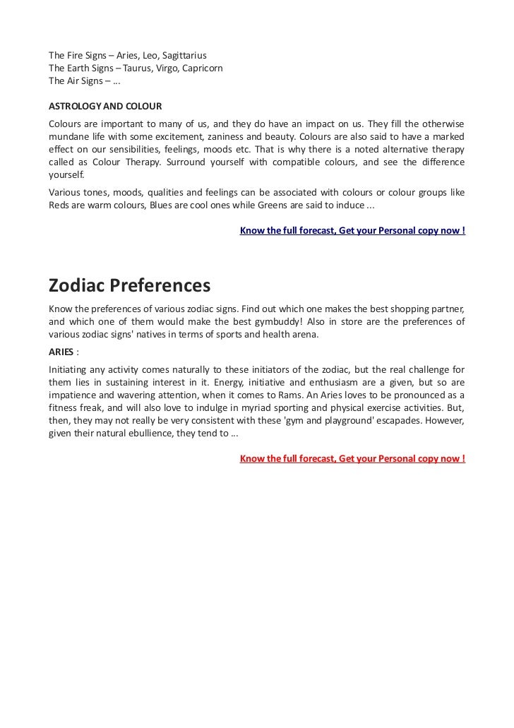 August 17 2012 horoscope and zodiac sign meanings.