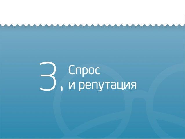 3.Спрос и репутация
