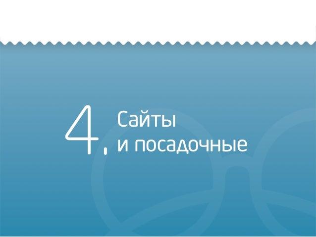 4.Сайты и посадочные