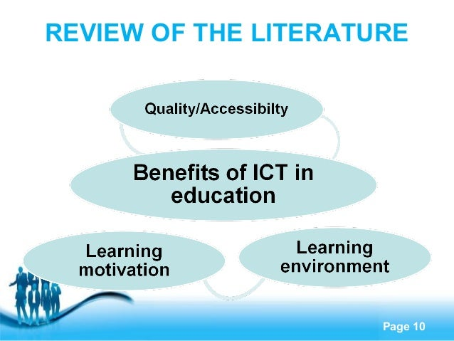 Explore suggestions to integrate technology within higher education free powerpoint templates page 10 review of the literature toneelgroepblik Images