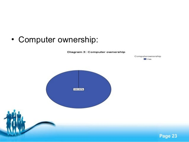 Explore suggestions to integrate technology within higher education free powerpoint templates page 23 computer ownership toneelgroepblik Choice Image