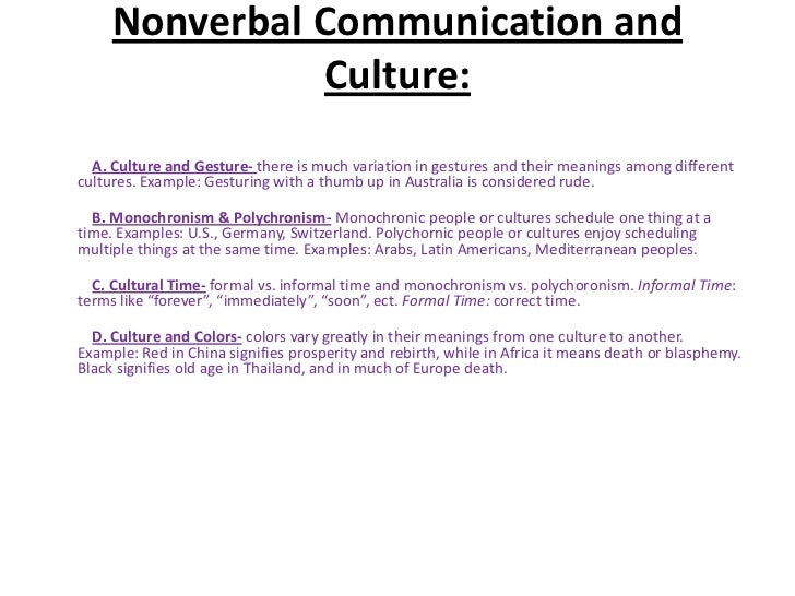 a study of the interaction of nonverbal and verbal messages in a conversation Research on the relationship between verbal and nonverbal communication: emerging integrations.