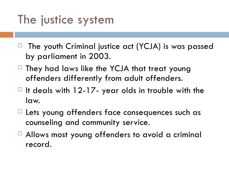 treatment of young offenders essay - the prevention and treatment of the prevention and treatment of juvenile delinquency social work essay preventing delinquency not only saves young.