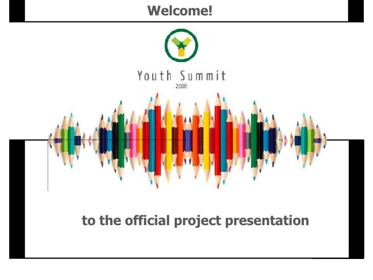 to the official project presentation Welcome!
