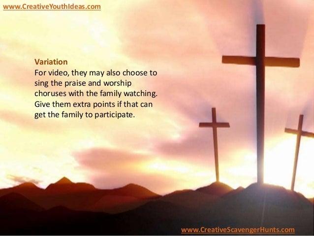 Youth Camp Christian - Bible Scene Scavenger Hunt