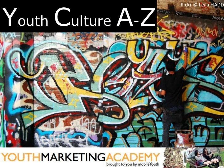 Youth Culture A-Z                    flickr © Leila HADD