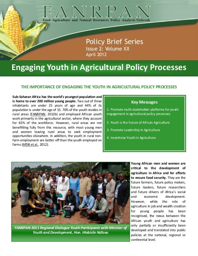 Policy Brief Series                                                   Issue 2: Volume XII                                 ...