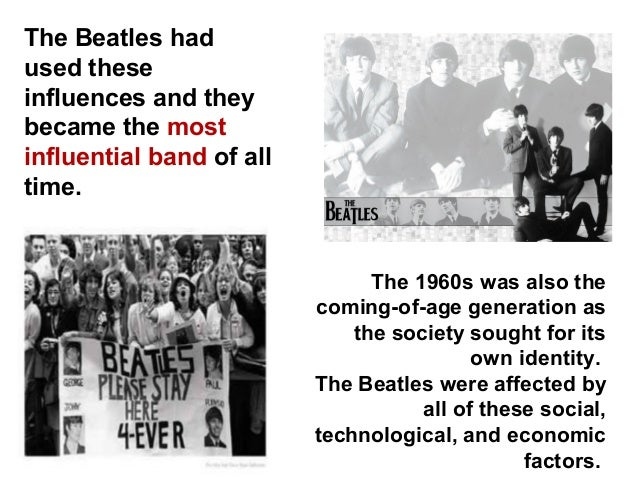 The influence of the beatles