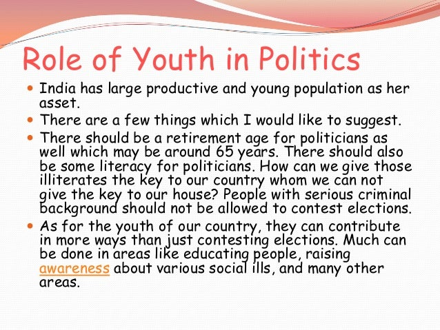 Participation Of Youth In Politics Essay Ethiopias Oromo Youth Will No Longer Stay Silent