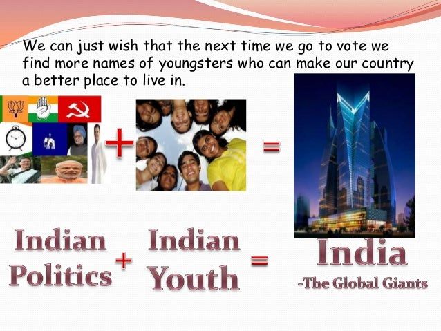youth into politics ppt 8