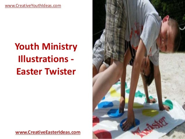 Youth Ministry Illustrations - Easter Twister www.CreativeEasterIdeas.com www.CreativeYouthIdeas.com