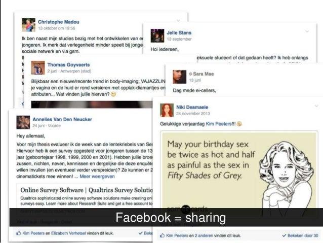 Facebook = immediate feedback